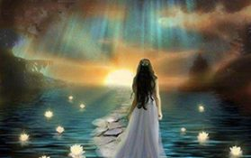 Shamanism--Soul-Retrieval-Picture-Lady-and-lake